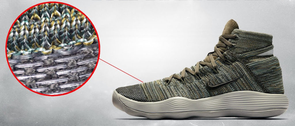 basketball shoes material